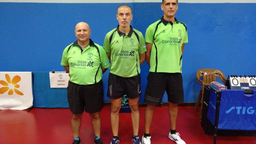 Equipo de tenis de mesa de Segunda División del Círculo de Amistad.