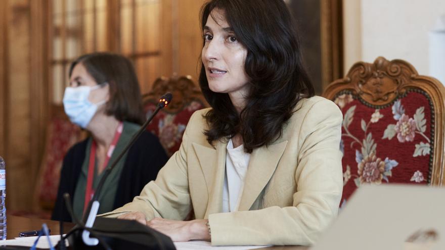 La ministra de Justicia, Pilar Llop, en Santander, Cantabria.