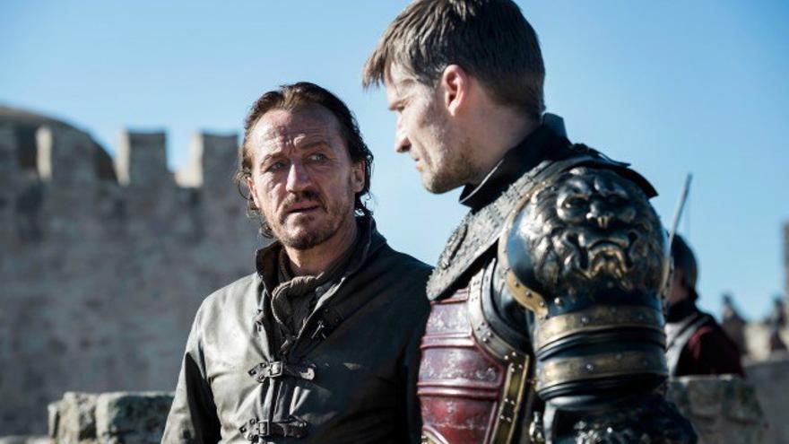 Jaime Lannister y Bronn en el 7x07 de Juego de Tronos