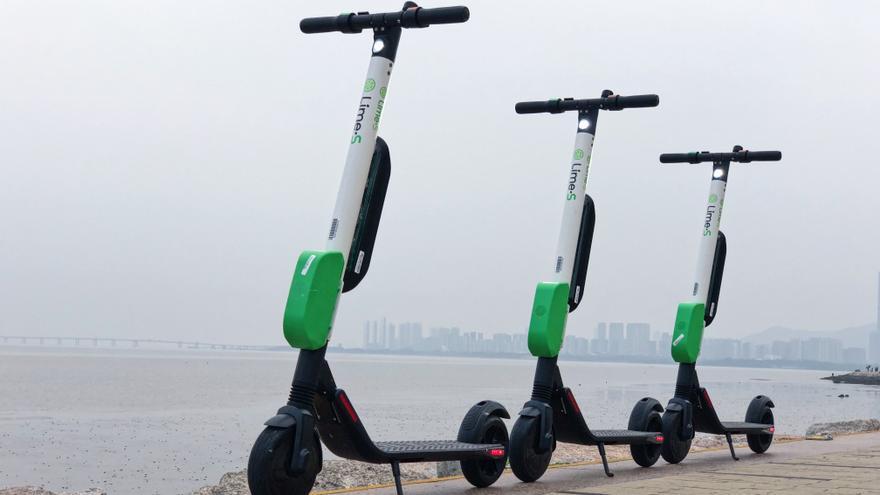 Lime-S, modelo de patinete eléctrico que ofrece la empresa.