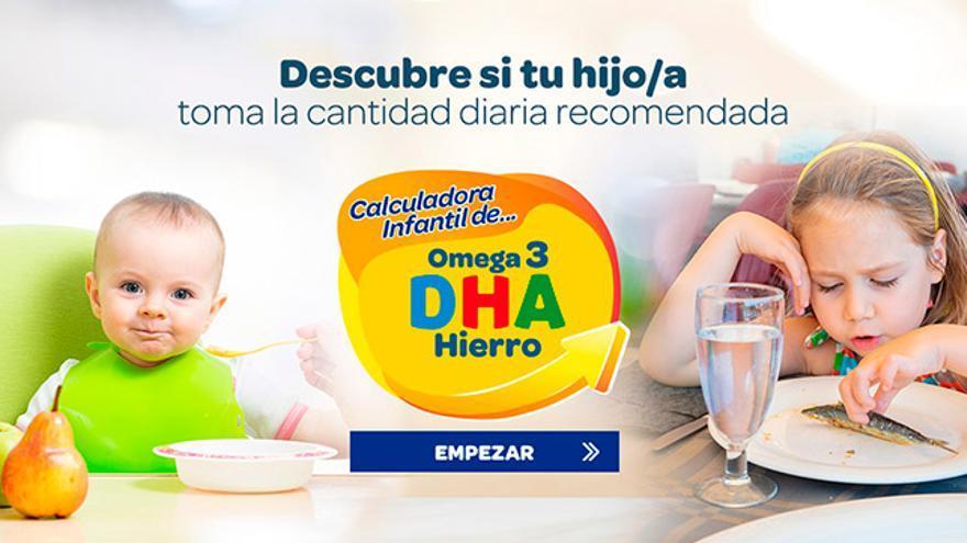 Calculadora de hierro y omega3 DHA