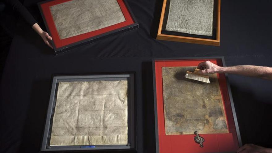 La Biblioteca Británica conmemora los 800 años de la Carta Magna en una exposición