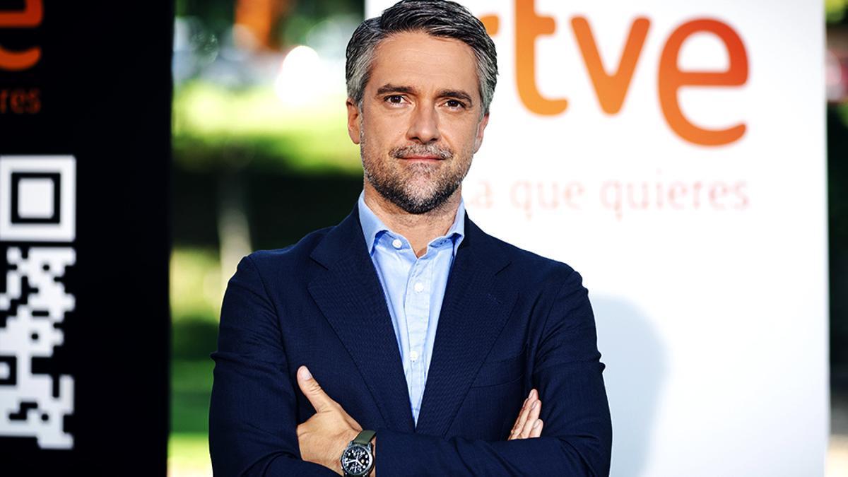 Carlos Franganillo, durante la presentación de la nueva temporada