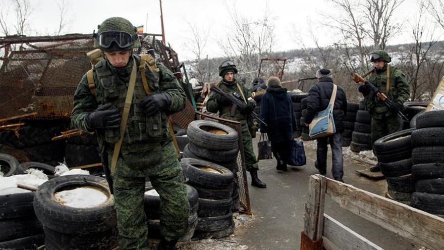 Cinco soldados mueren en combates en el este de Ucrania