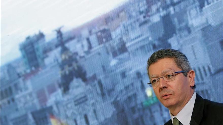 Gallardón confía en lograr el máximo consenso para reformar el Poder Judicial