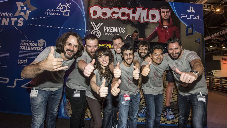 Madrid Games Week 2015 DogChild