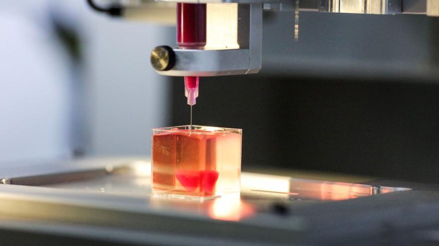Desarrollan tintas con células para crear tejidos humanos con bioimpresoras 3D