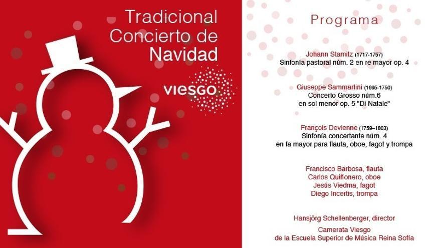 Un cuarteto de viento protagonizará este domingo el Concierto de Navidad de Viesgo y la Fundación Albéniz