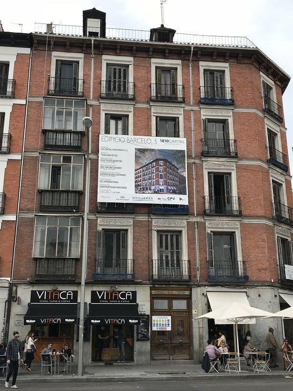 Promoción de viviendas Barceló 55 | Somos Chueca