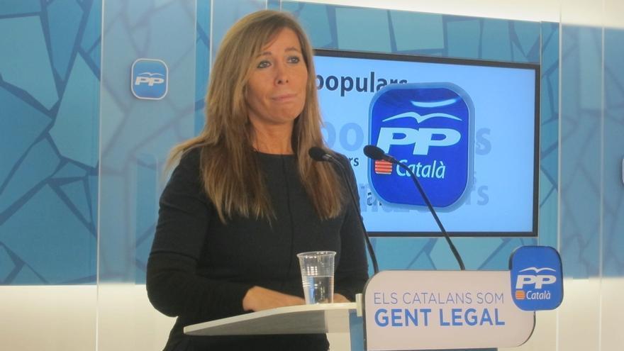 """Camacho critica que Mas tache a Rajoy de adversario cuando """"le paga las facturas"""""""