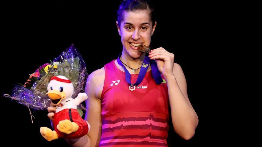 Carolina Marín sumó en Dinamarca su tercer título europeo