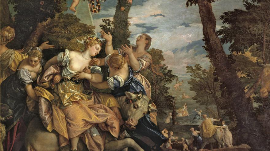 'Venus y Adonis' (Paolo Caliari)