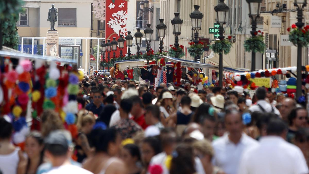 Archivo - Imagen de archivo de la Feria de Málaga de 2019