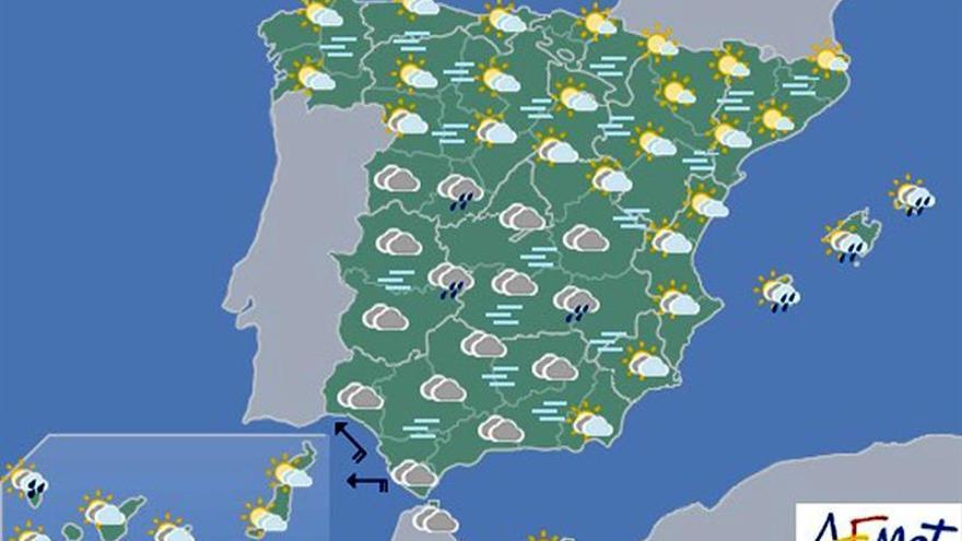 Lluvias intensas y temperaturas anormalmente altas en Canarias