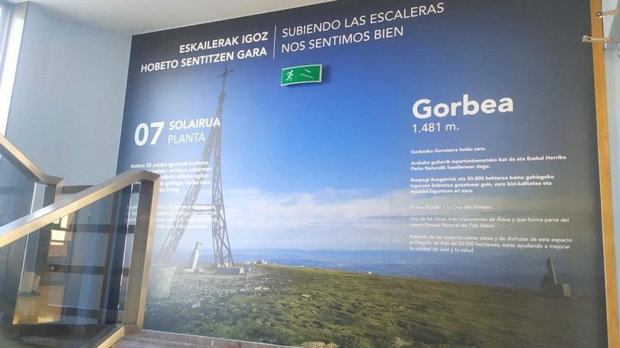 El Hospital Txagorritxu de Vitoria acoge una campaña dirigida a promover el ejercicio diario