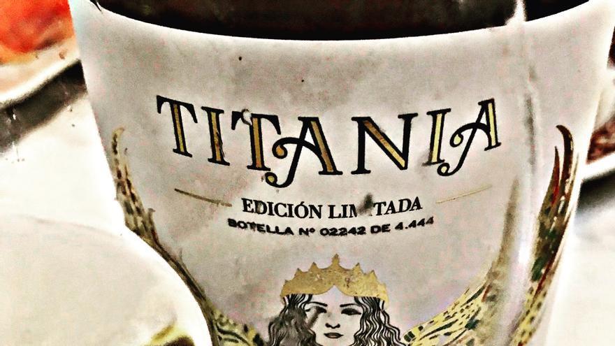Titania, carácter de la tempranillo blanca
