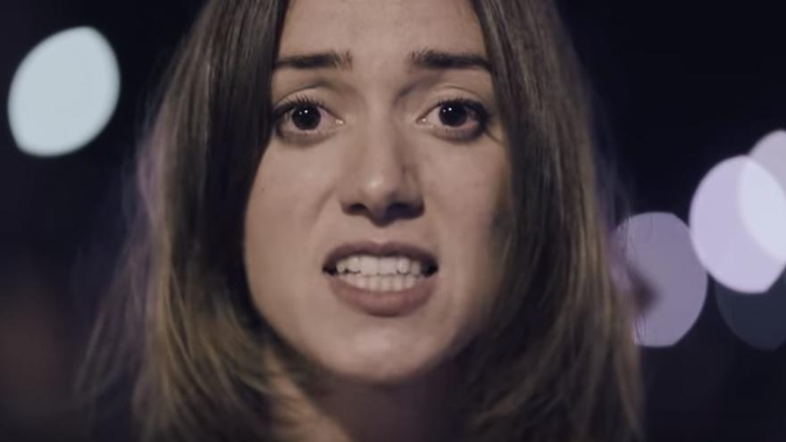 Help Catalunya. Save Europe. Captura de un vídeo lanzado por Omnium Catalunya.