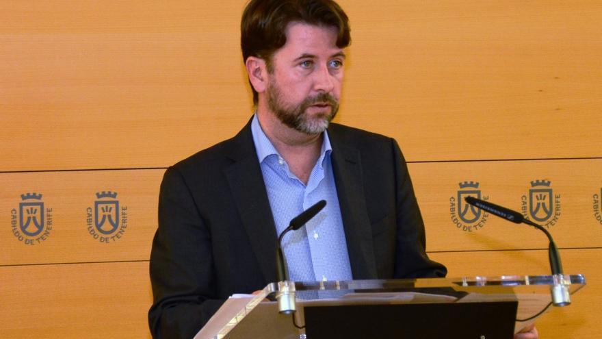Carlos Alonso durante la rueda de prensa posterior al Consejo de Gobierno