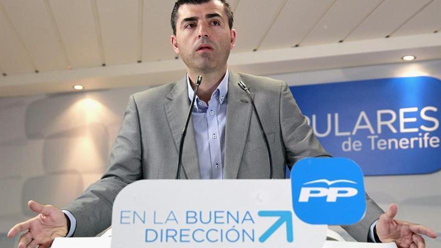 Manuel Domínguez quiere seguir siendo presidente del PP en Tenerife