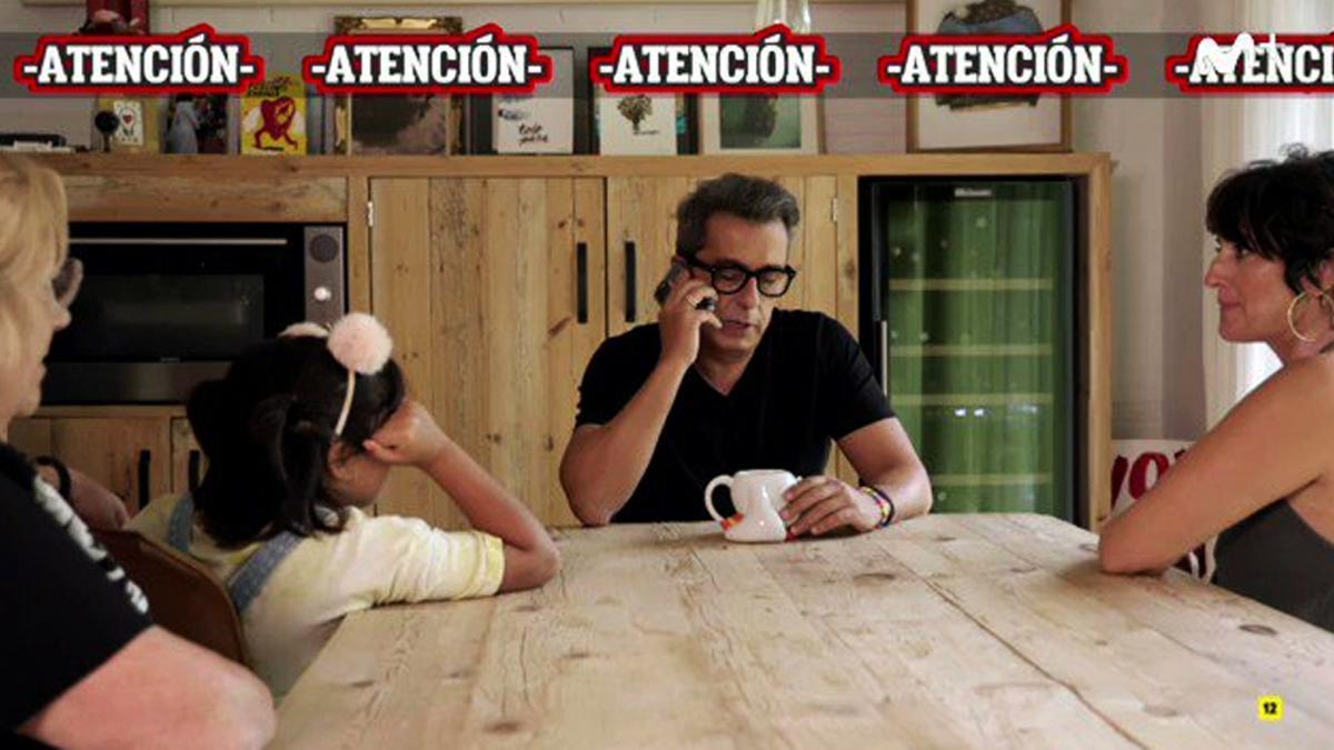 Andreu Buenafuente parodia a Josep Pedrerol con su familia