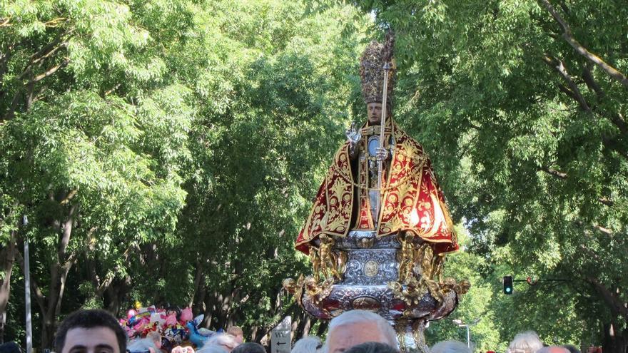 Pamplona celebra este jueves el día grande de las fiestas con la tradicional procesión de San Fermín