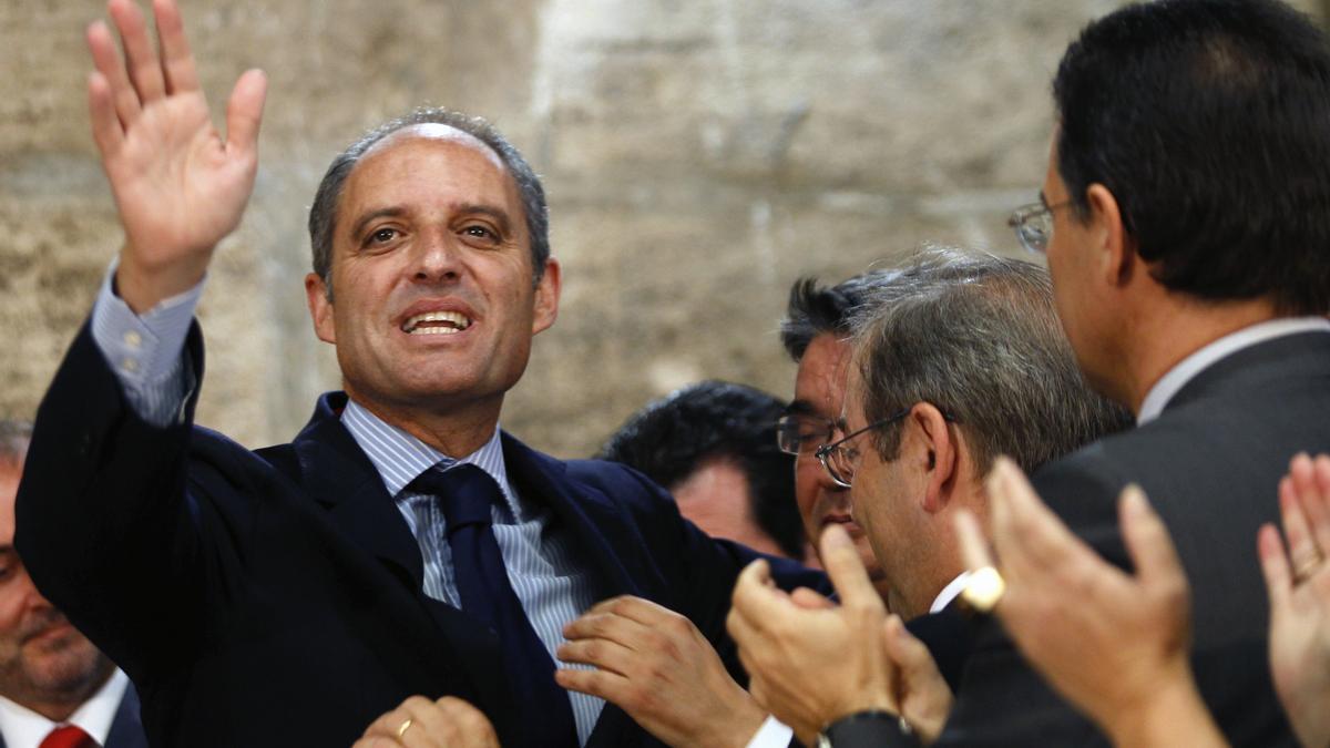El presidente de la Generalitat valenciana, Francisco Camps. EFE/Juan Carlos Cárdenas/Archivo