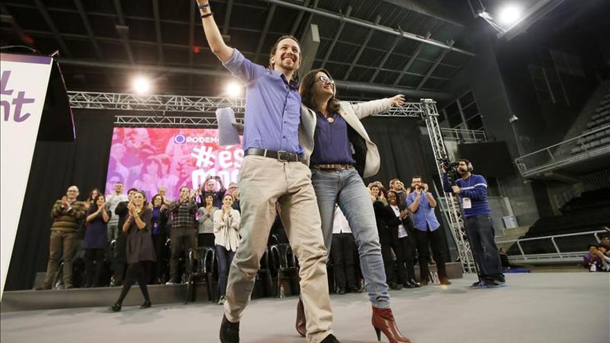 Iglesias presume de que las fuerzas del cambio son más eficaces que Rajoy
