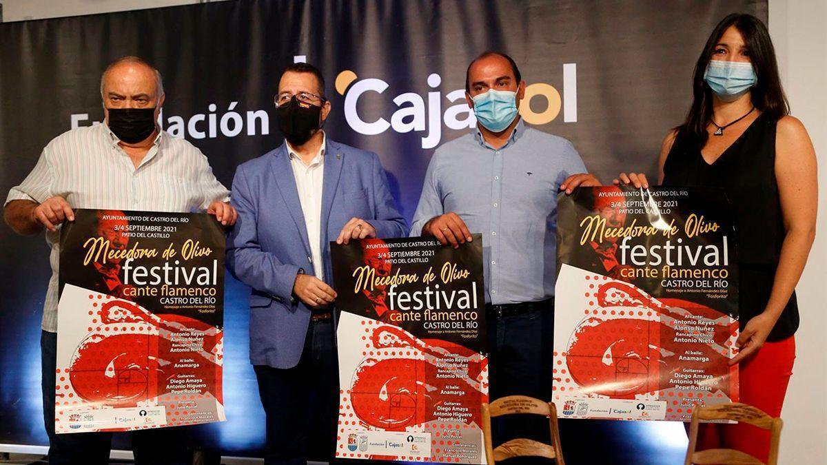 Presentación del festival flamenco.