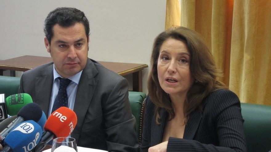 Seis caras nuevas entre los cabezas de lista del PP-A, que presenta a Crespo por Almería y Bueno por Sevilla