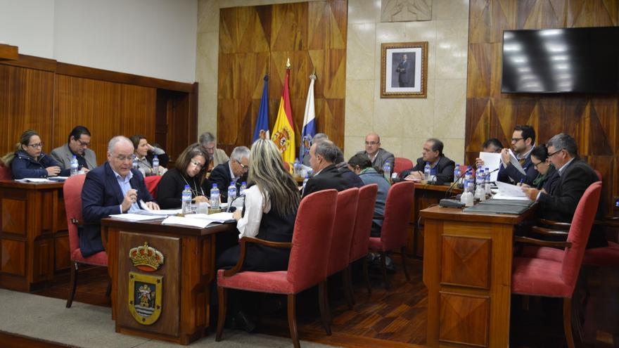 Sesión plenaria celebrada este martes en el Cabildo.