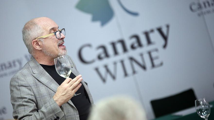 Javier Gila, sumiller que impartirá el curso este miércoles en Icod de los Vinos