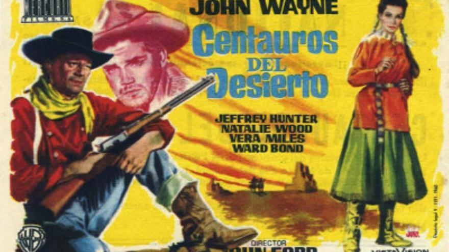 Cartel de 'Centauros del desierto' / Foto: cinetario.es
