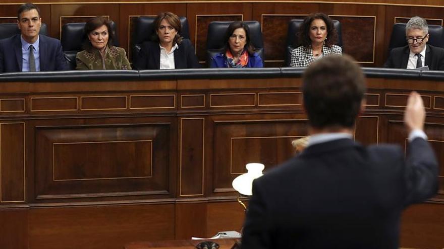 Duelo de Sánchez y Casado hoy en el Congreso tras romper el pacto del CGPJ