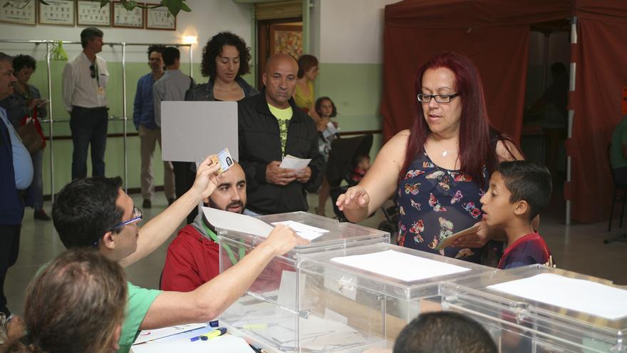 Jornada electoral en Agüimes