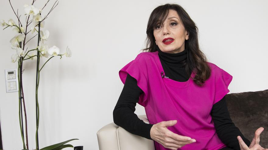 Luz Casal, durante la entrevista con eldiario.es