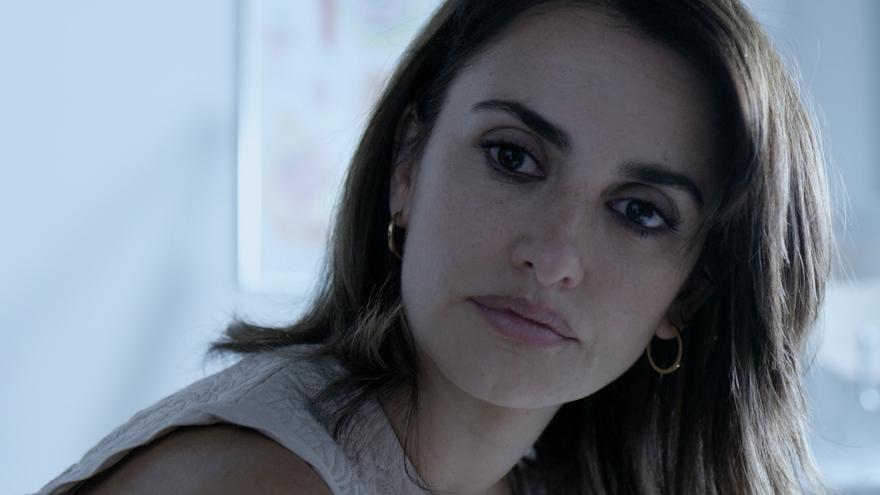 Primer plano de Penélope Cruz como Magda