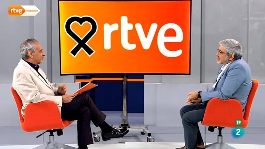 El defensor del espectador frente a Fernando López Puig, director de Contenidos de TVE