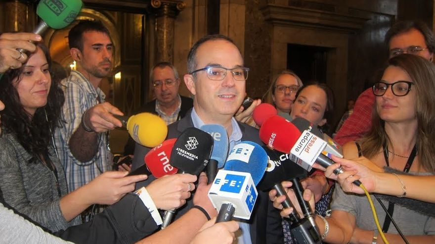 Turull promete presidir el Govern para todos los catalanes y dialogando sin exclusiones
