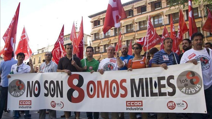 Arranca el juicio a los 8 de Airbus, sobre el que planea el derecho de huelga