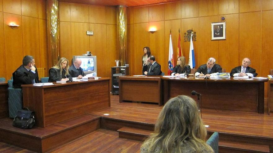 La gerente de Mercasantander durante el juicio por el desfalco de más de un millón de euros.