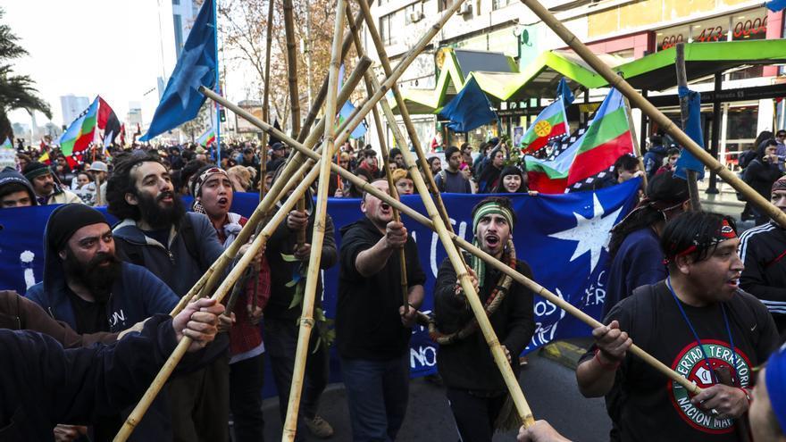 Preso mapuche deja huelga de hambre tras histórico pacto con Gobierno chileno
