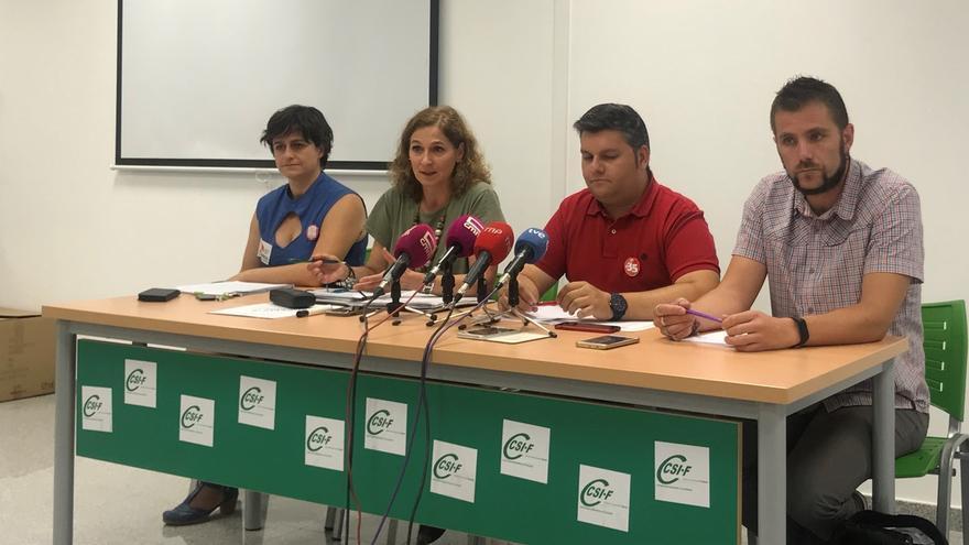 """Sindicatos anuncian movilizaciones """"contundentes"""" de todos los empleados públicos si la Junta """"no recapacita"""""""