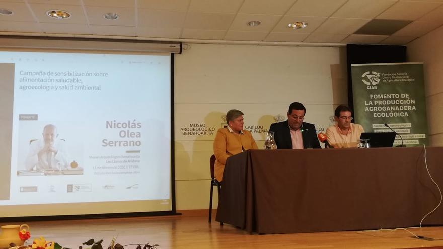 Presentación de la campaña 'Alimentación Saludable, Agroecología Y Salud Ambiental'.