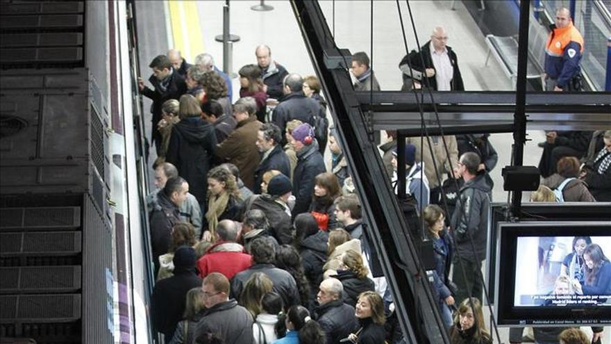 """Una encuesta de la OCU dice Metro de Madrid """"ha empeorado"""" en últimos 3 años"""
