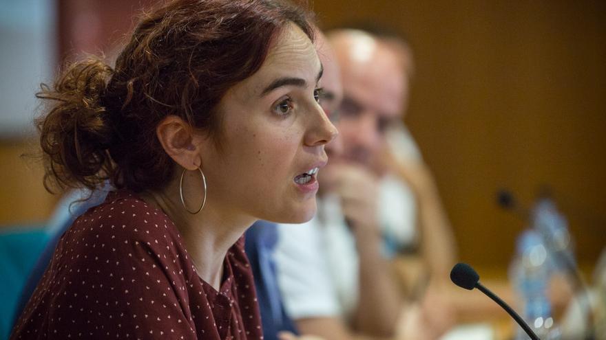 Gemma Ubasart (Podemos) a la UPEC / ENRIC CATALÀ