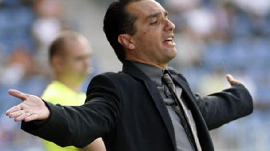 José Luis Oltra, entrenador del CD Tenerife. (ACFI PRESS)