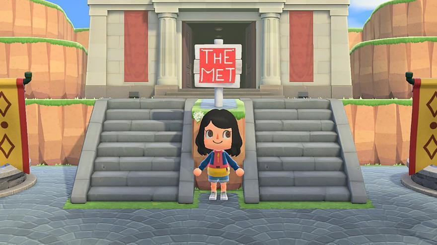 El MET recreado en Animal Crossing