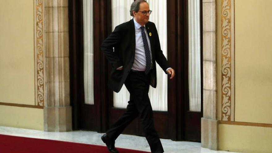 Torra y su Govern participan en ascensos a cumbres en solidaridad con los presos