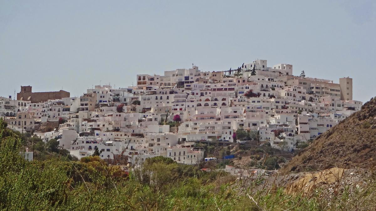 Mojácar, uno de los pueblos más bonitos de España.