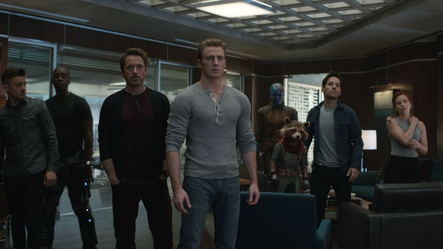 Fotograma de la película Vengadores: Endgame.